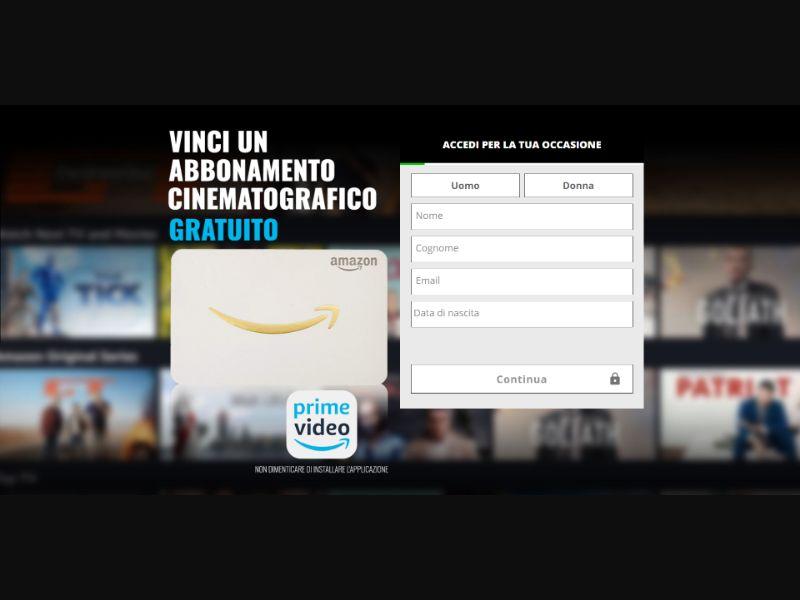 Amazon Prime Voucher - INCENT - IT