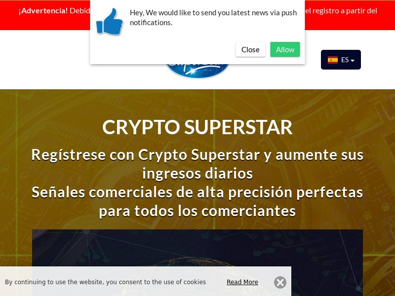 Crypto Superstar Spanish 2087