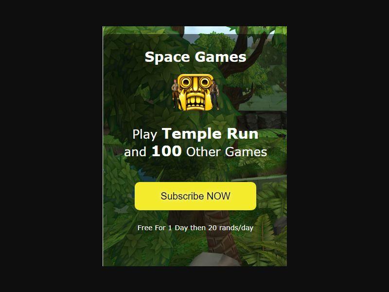 ZA Mtn Temple Run [ZA] - 2 click