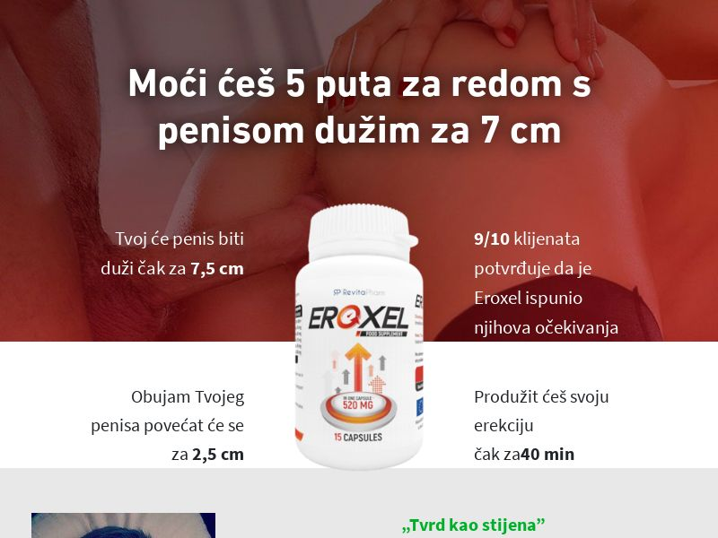 Eroxel - HR (HR), [COD], Health and Beauty, Supplements, Sell, Call center contact, coronavirus, corona, virus, keto, diet, weight, fitness, face mask
