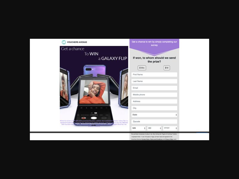 Samples Samsung Flip (US) SOI