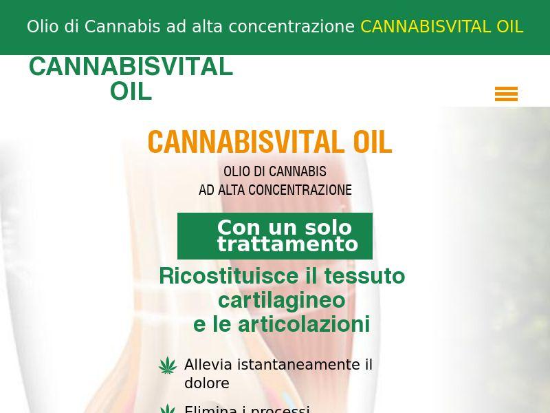CANNABISVITAL OIL IT