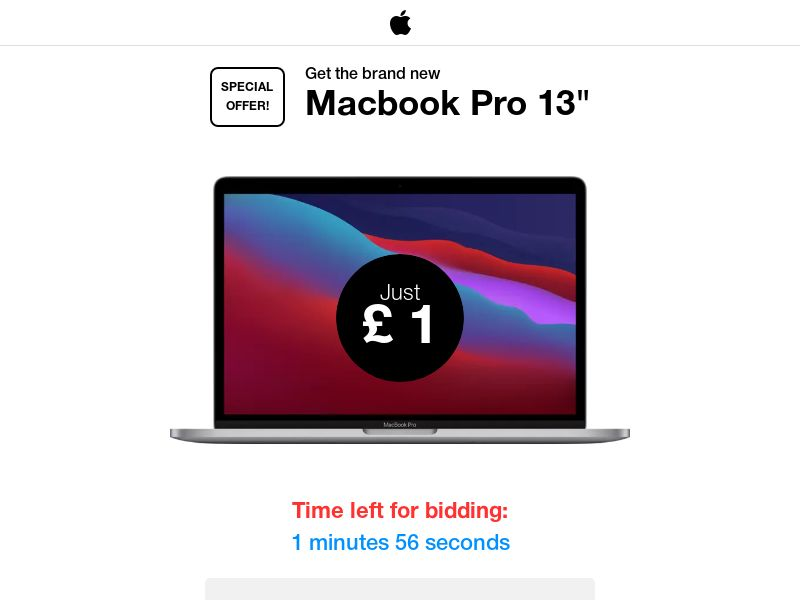 """Get the brand new Macbook Pro 13"""" - CC Submit   UK"""