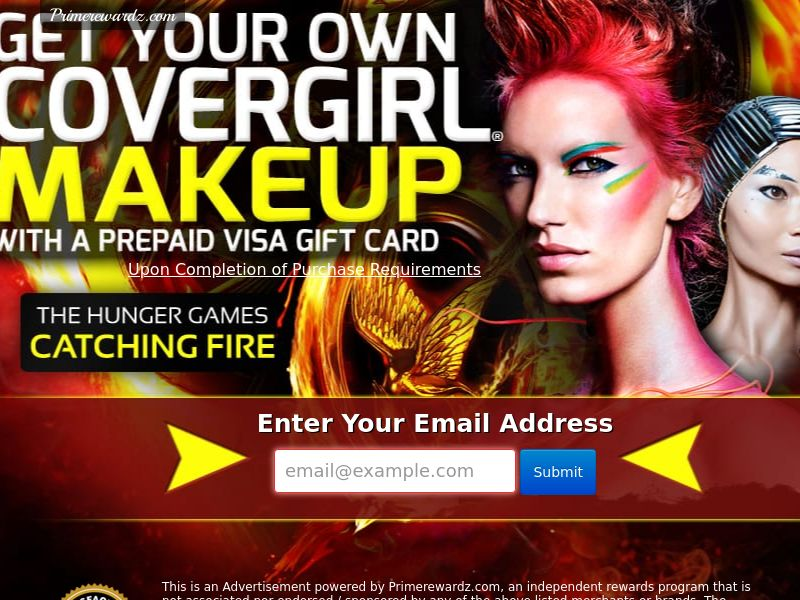 Covergirl Catching Fire - Incent - US