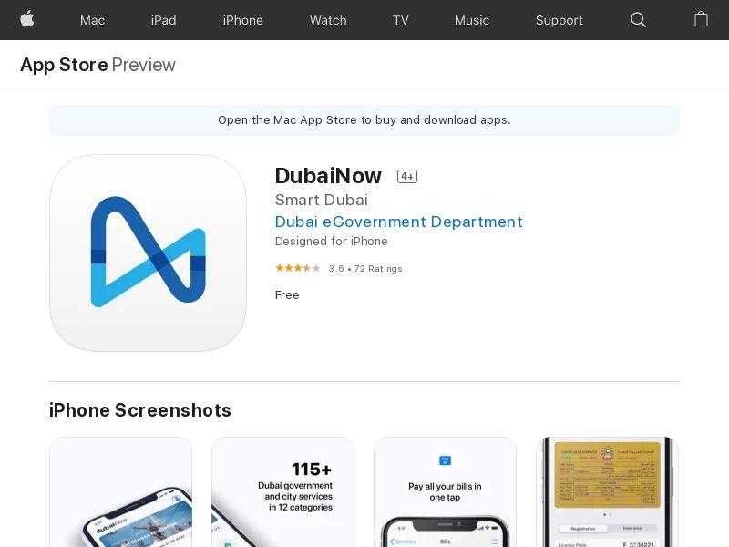 DubaiNow UAE IOS CPI (non-incent) *KPI