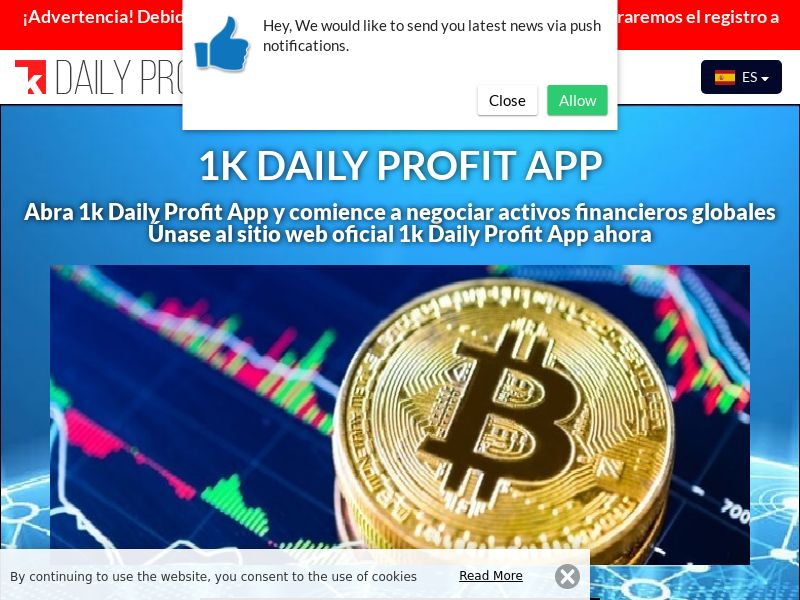 1k Daily Profit App Spanish 2749
