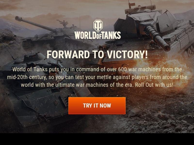 World of Tanks - Desktop traffic only - US