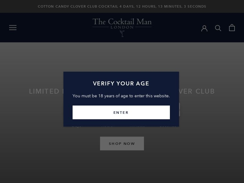 The Cocktail Man - UK (GB), [CPS], Health and Beauty, Food, Sell, coronavirus, corona, virus, keto, diet, weight, fitness, face mask