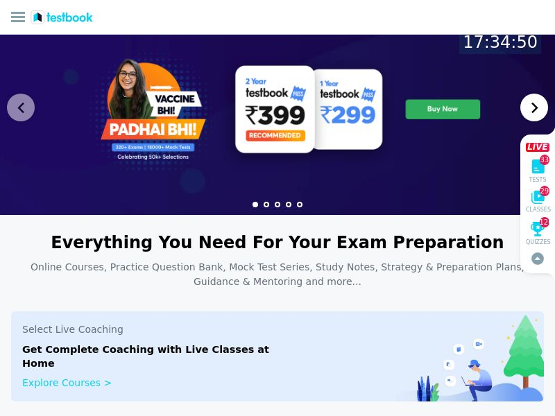 Testbook.com CPS - India