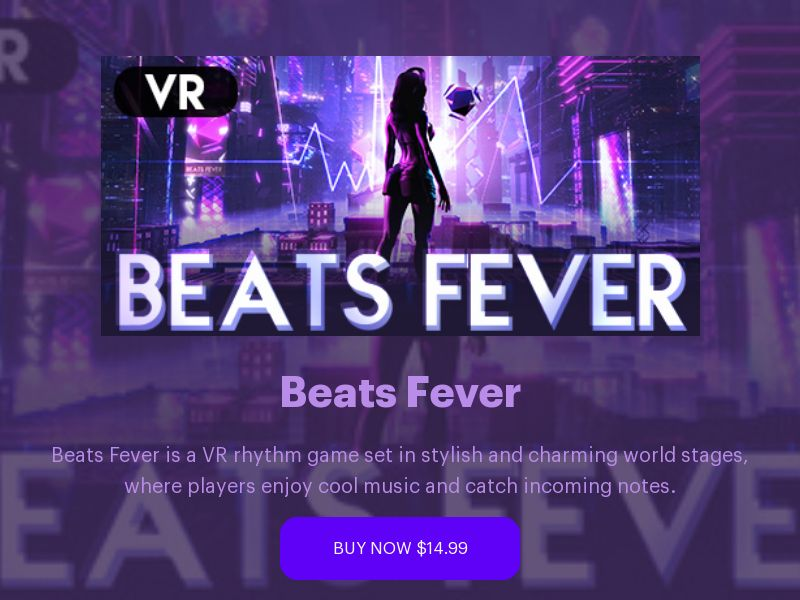 Beats Fever VR WW CPS