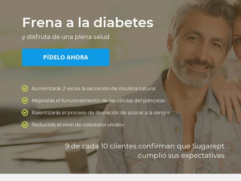 Sugarept: Blood Sugar balance - CPL - Desktop & Mobile [ES]