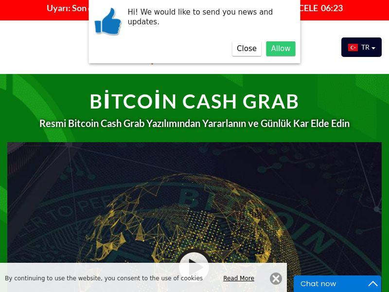 Bitcoin Cash Grab Turkish 1898