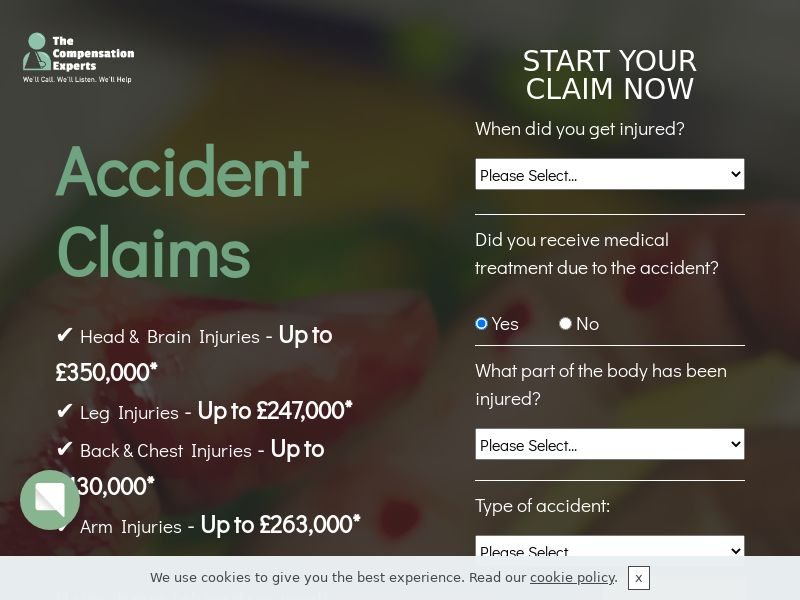 The Compensation Experts Injury Claim - UK