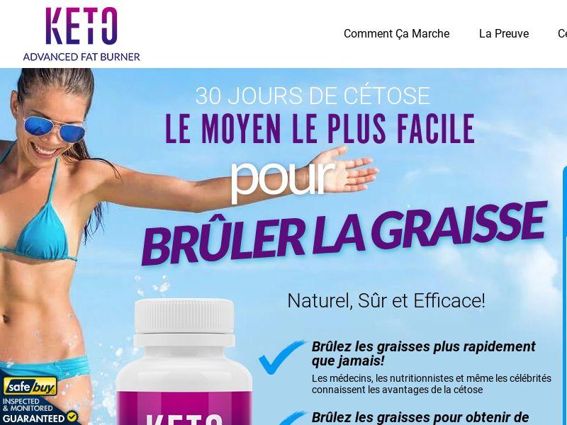 Keto Advanced Fat Burner LP01 (French)