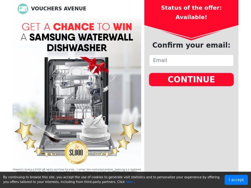 Dishwasher Freebie Voucher (CPL) (US)