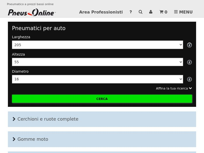 Pneus Online - IT (IT), [CPS], Motoring, Car parts, Car accessories, Sell, moto