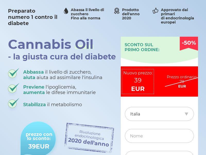 Cannabis Oil IT (diabet)