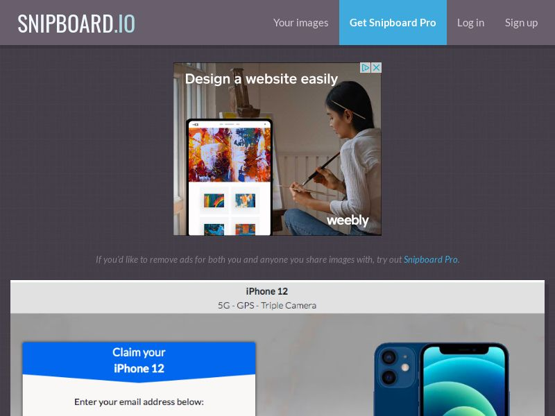 MagnificentPrize - iPhone 12 ZA - CC Submit