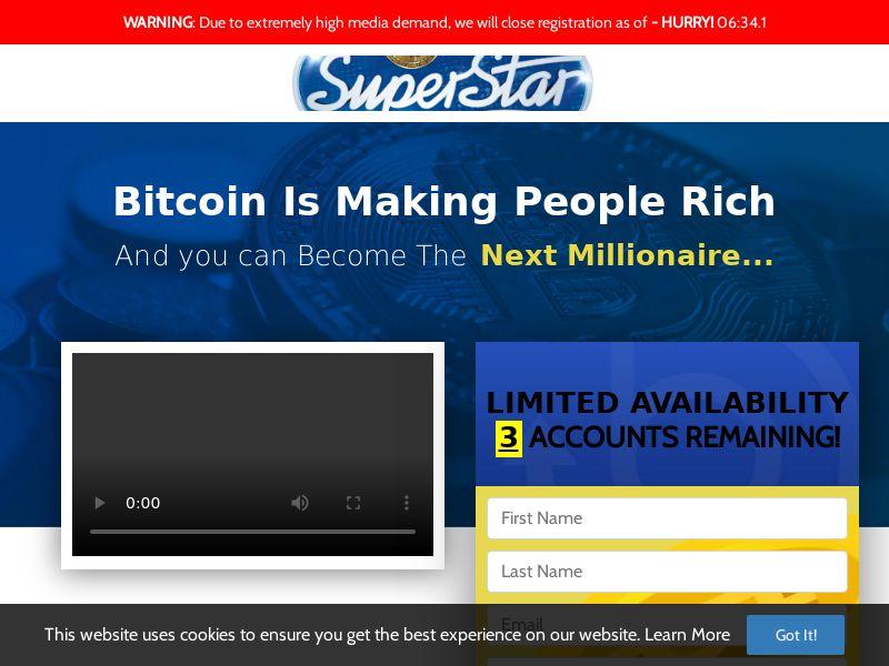 Bitcoin Superstar (ZA) (CPS)