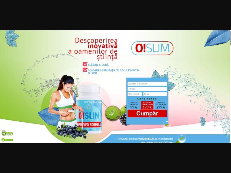 O!Slim - Diet & Weight Loss - SS - [RO]