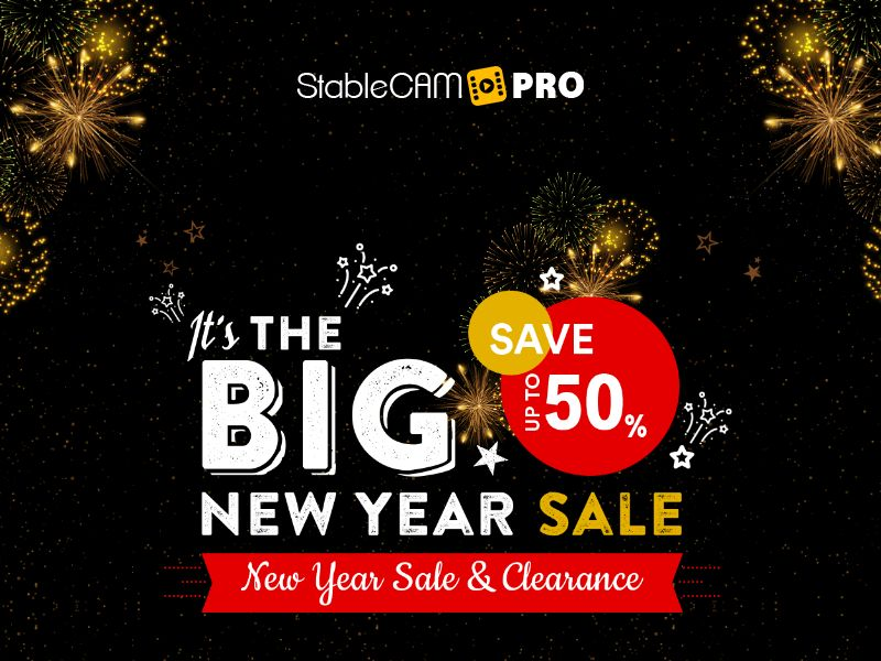 StableCam Pro - Handheld Smartphone Gimbal Stabilizer - CPA - Special New Year LP - [INTERNATIONAL]