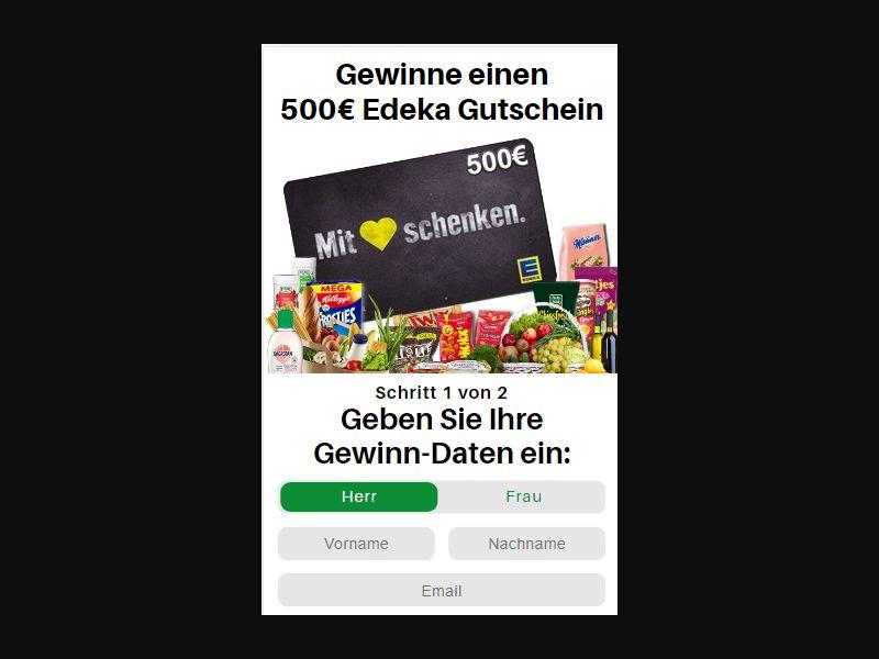 DE - Win Edeka Voucher [DE] - SOI registration
