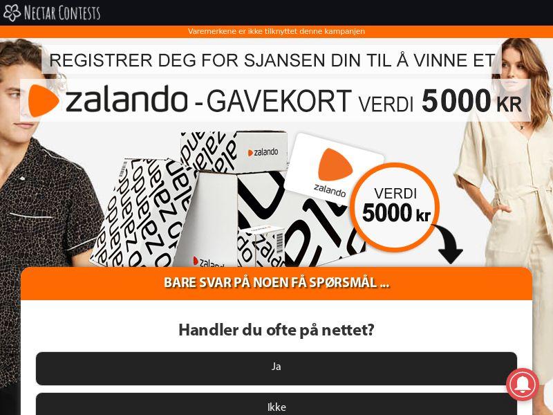 NectarContests - Zalando Gift Card - NO