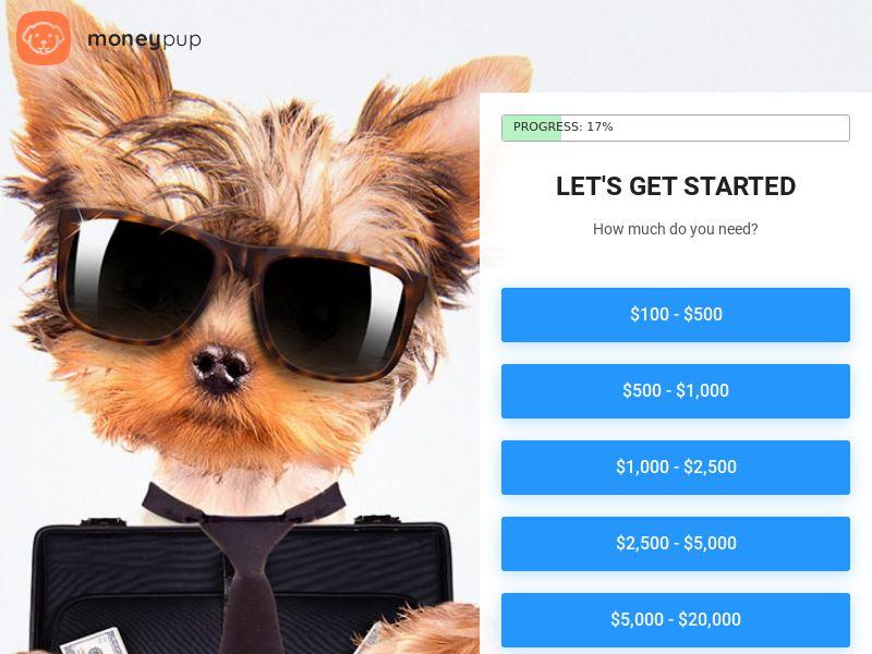 Moneypup Loans - US