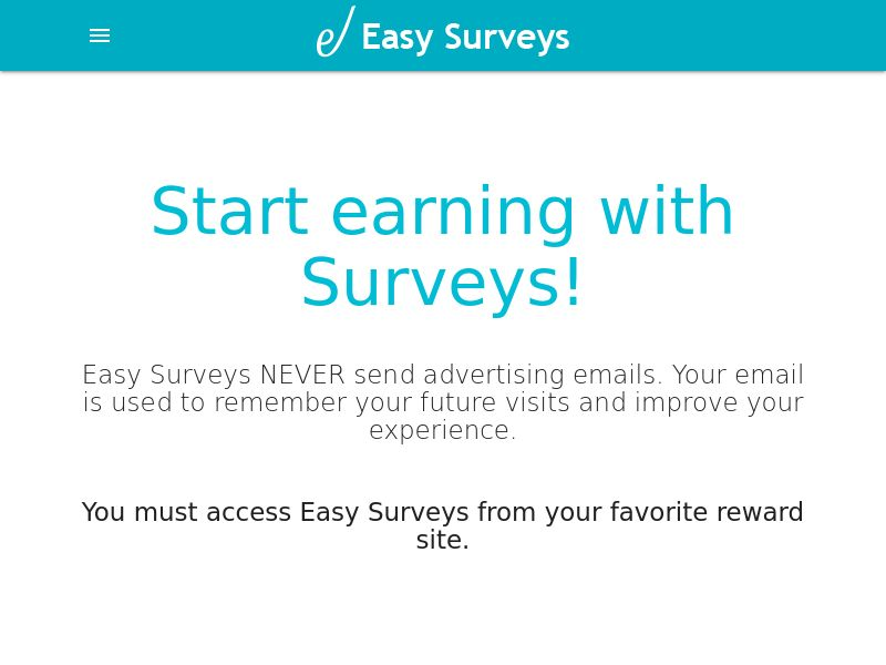 EasySurveys Router - US UK CA - SOI <<*PENDING*PRIVATE OFFER*>>