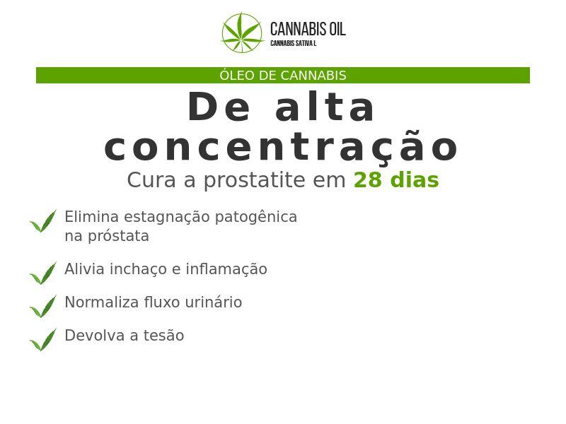 Cannabis Oil PT (prostatitis)