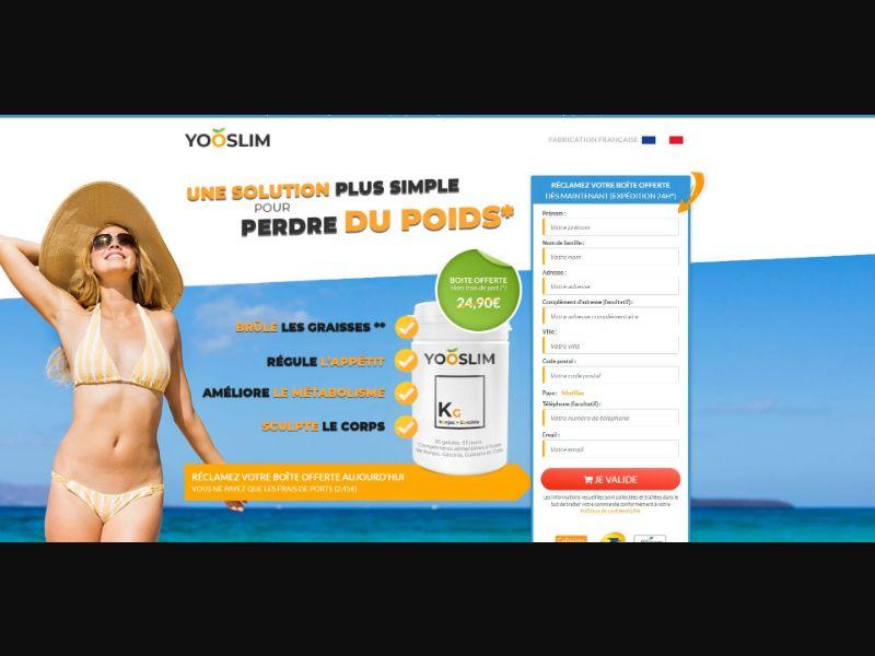 YooSlim - Diet & Weight Loss - Trial - [FR]