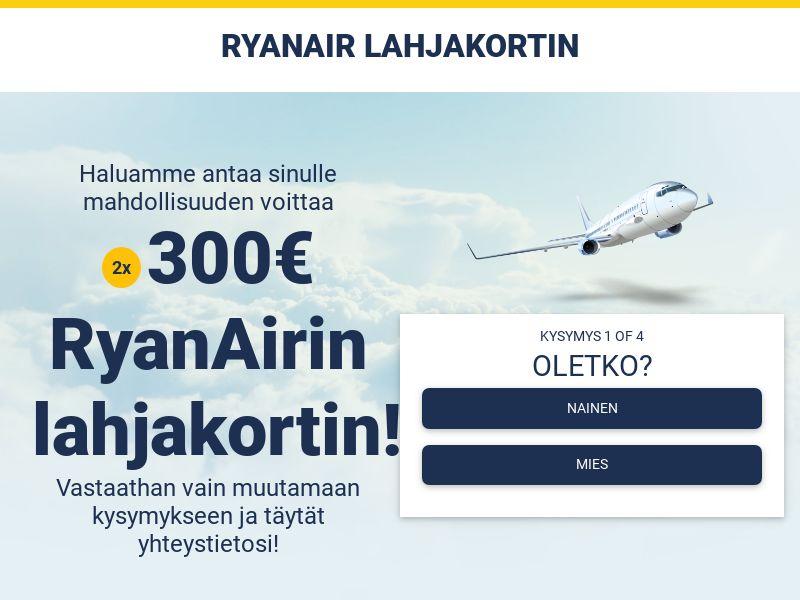 Ryanair card - FI (FI), [CPL]