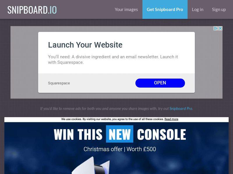 LeadsWinner - Playstation 5 PS5 Christmas UK - SOI