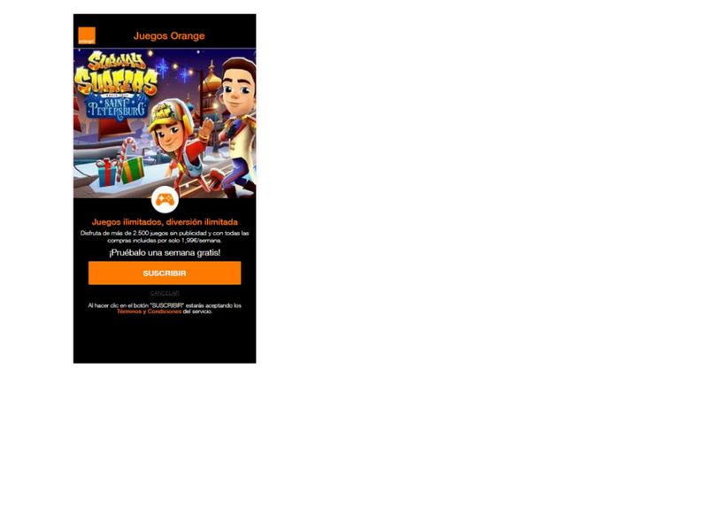GamesSubway Orange
