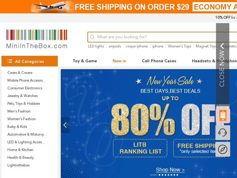 MiniInTheBox.com - Wholesale Gadgets & Electronics + Free Shipping | Multi-Geo