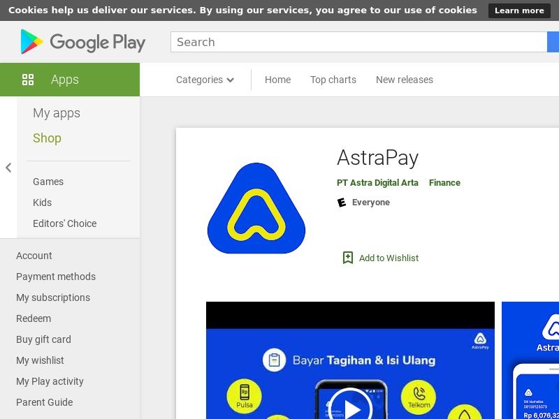 AstraPay Android CPE - ID
