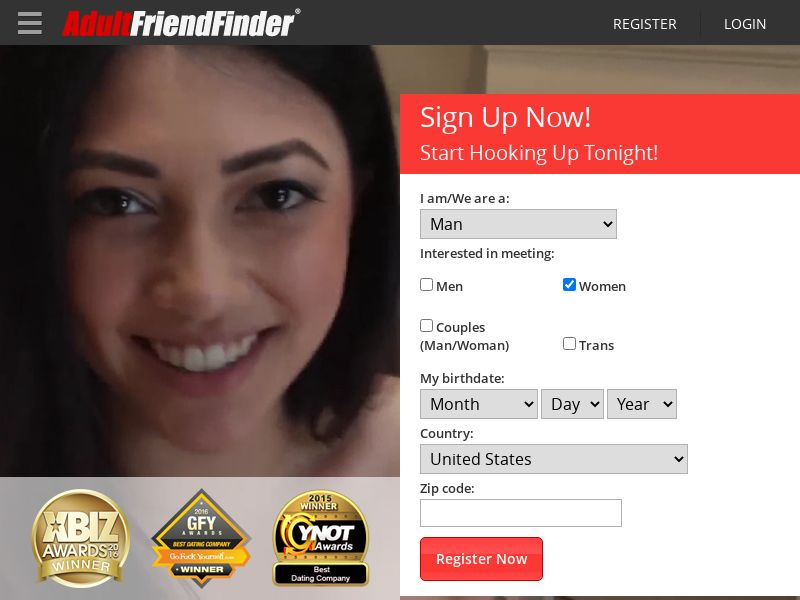 Adult FriendFinder (CA, CL, SE, TH, TW) (CPS) (Personal Approval)