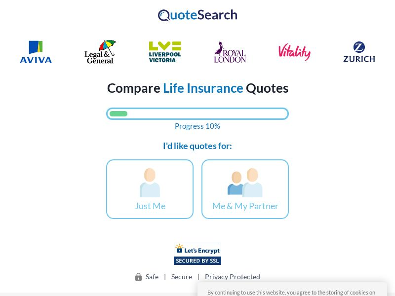 Quotesearchdeals.com - Life Insurance - SOI - [UK]