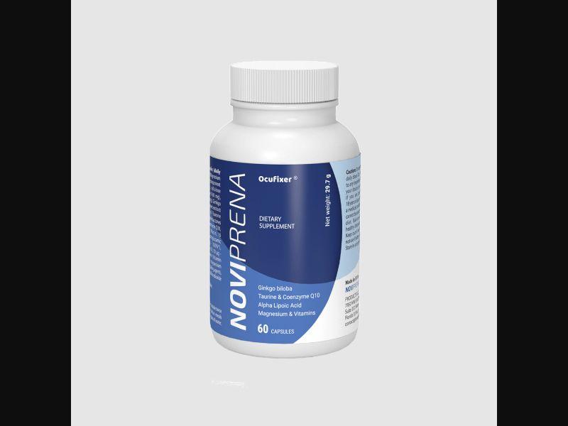 NOVIPRENA - eyes - capsules - COD / SS - new creative available – LV – CPA