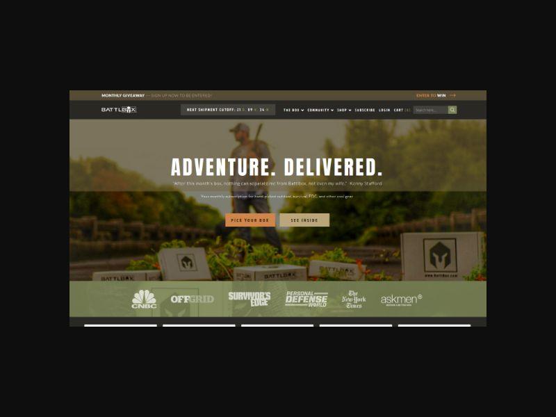 Battlbox.com - Survival & Outdoor Gear - US,CA