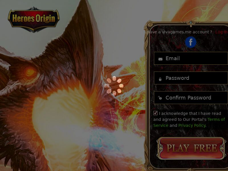 Heroes Origin (MultiGeo), [CPL], Entertainment, Games, Browser games, Single Opt-In, game