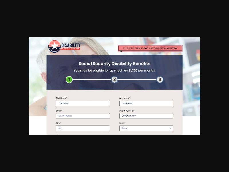 Disability Benefits Guide (US) CPL (40-64)