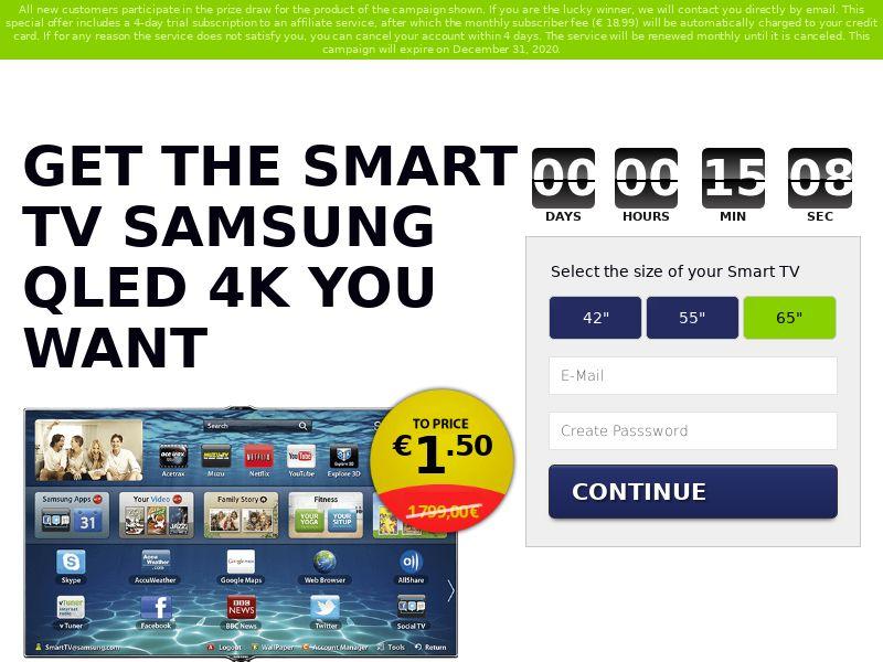 Samsung QLED TV - IT, PT, UY (IT,PT,UY), [CPA]