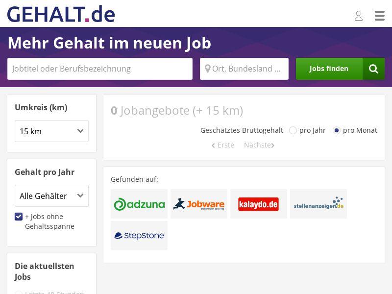GEHALT.De/Premium - DE - Incent CPC