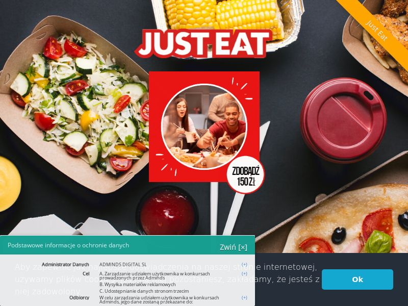 12547) [WEB+WAP] Just Eat Product Testing - PL - CPL
