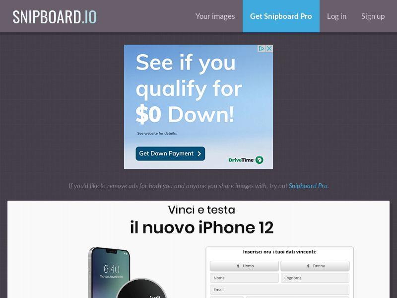 WinMarketing - iPhone 12 IT - SOI