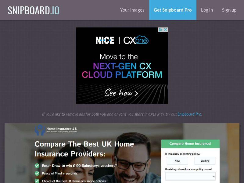 41052 - UK - Home Insurance 4U - UK - [email/display/social]
