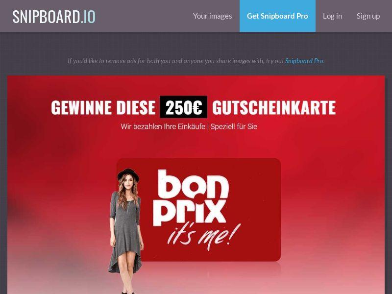 37318 - DE - LeadsWinner - Bonprix - SOI