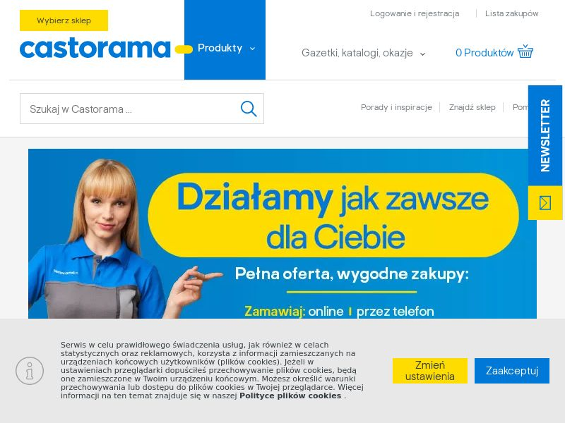 Castorama - PL (PL), [CPS], House and Garden, Furniture, Home decoration, Garden, Building, Sell, shop, gift