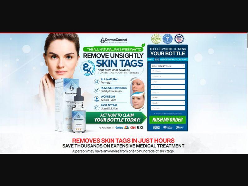 Derma Correct Mole and Skin Tag Remover - Skin Care - SS - NO SEO - [US, CA, IE]
